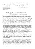 Công văn số 3058/BTNMT-TTr