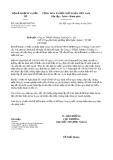 Công văn số 5582/BKHĐT-ĐTNN