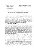 Hướng dẫn số 16-HD/BTCTU