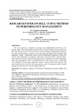 Research paper on bell curve method of performance management