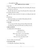 Giáo án Dạy luyện chữ đẹp