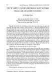 Tên nữ giới và vấn đề giới trong ngôn ngữ học