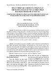 Hoàn thiện quy định của pháp luật thi hành án dân sự về các biện pháp bảo đảm thi hành án dân sự