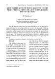 Kinh nghiệm quốc tế trong xây dựng cơ chế pháp lý phòng, chống mua bán người: Bài học đối với Việt Nam