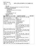 Giáo án Ngữ văn 12 - Tiết 47: Chữa lỗi lập trong văn nghị luận