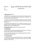 Giáo án Ngữ Văn lớp 12 – Hồn Trương Ba, da hàng thịt (Lưu Quang Vũ)