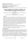 Study on impact of Akshaya Tritiya on consumer buying behaviour of gold
