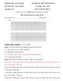 Tổng hợp Đề kiểm tra 1 tiết học kì 1 môn Sinh học lớp 11 năm học 2015-2016