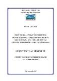 Luận văn thạc sĩ Kinh tế: Phân tích các nhân tố ảnh hưởng đến sự hài lòng về chất lượng dịch vụ bảo dưỡng và sửa chữa xe ôtô tại công ty TNHH Phước Anh 3 tại Vĩnh Long