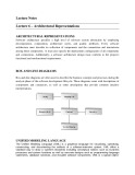 Software design and architecture (Lecture notes)  – Chapter 6