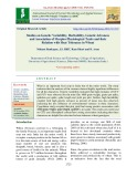 Studies on genetic variability, heritability, genetic advances and association of morpho-physiological traits and their relation with heat tolerance in wheat