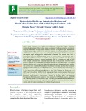 Bacteriological profile and antimicrobial resistance of blood culture isolates from a 350 bedded Hospital Lucknow, India