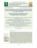 Carbon, nitrogen dynamics and soil organic carbon retention potential after 18 years by different land uses and nitrogen management in RWCS under typic ustochrept soil