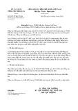 Công văn số 2075/TCHQ-TXNK