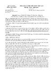 Công văn số 2294/TCT-CS
