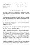 Công văn số 3014/TCHQ-TXNK