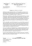 Công văn số 2772/BKHĐT-QLĐT