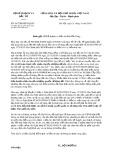 Công văn số 3617/BKHĐT-QLĐT