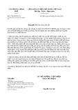 Công văn số 2778/VPCP-CN