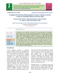Evaluation of front line demonstration of cassava (Manihot esculenta Crantz) in Ernakulam district of Kerala, India