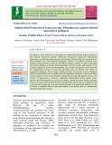 Antimicrobial properties of Sargassum spp. (Phaeophyceae) against selected aquaculture pathogens
