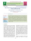 Effect of drip irrigation and fertigation on growth, development and yield of vegetables and fruits