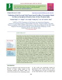 Validation of soil test and yield target based fertilizer prescription model for rice on inceptisol of eastern zone of Uttar Pradesh, India