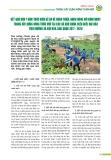 Kết quả hơn 1 năm thực hiện đề án về hoàn thiện, nhân rộng mô hình bảo vệ môi trường trong xây dựng nông thôn mới tại các xã khó khăn, biên giới, hải đảo theo hướng xã hội hóa, giai đoạn 2017-2020