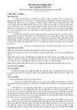 Đề thi tham khảo tốt nghiệp THPT môn Ngữ văn năm 2020 - Đề số 17