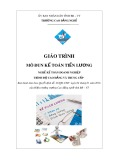 Giáo trình Kế toán tiền lương - Nghề: Kế toán doanh nghiệp - CĐ Kỹ Thuật Công Nghệ Bà Rịa-Vũng Tàu
