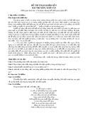 Đề thi tham khảo tốt nghiệp THPT môn Ngữ văn năm 2020 - Đề số 05