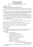 Đề thi tham khảo tốt nghiệp THPT môn Ngữ văn năm 2020 - Đề số 03