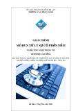Giáo trình Xử lý sự cố phần mềm - Nghề: Công nghệ thông tin (Cao đẳng) - CĐ Kỹ Thuật Công Nghệ Bà Rịa-Vũng Tàu