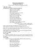 Đề thi tham khảo tốt nghiệp THPT môn Ngữ văn năm 2020 - Đề số 18