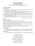 Đề thi tham khảo tốt nghiệp THPT môn Ngữ văn năm 2020 - Đề số 07