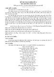 Đề thi tham khảo tốt nghiệp THPT môn Ngữ văn năm 2020 - Đề số 21