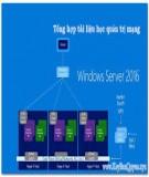 Giáo trình Quản trị mạng Windows Serve