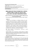 Broadband telecommunications infrastructure in Thailand: analysis and recommendations
