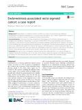 Endometriosis-associated recto-sigmoid cancer: A case report