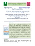 Effect of jigsaw co-operative learning method in improving cognitive skills among medical students
