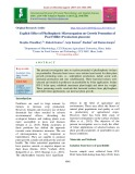 Explicit effect of phyllospheric microorganism on growth promotion of pearl millet (Pennisetum glaucum)