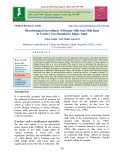 Microbiological surveillance of human milk from milk bank in tertiary care hospital in Jaipur, India