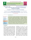 Studies on Tikka disease: Effect of sowing dates on the biochemical parameters of groundnut