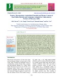 Protein, micronutrient, antioxidant potential and phytate content of pearl millet hybrids and composites adopted for cultivation by farmers of Haryana, India