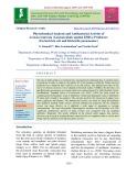 Phytochemical analysis and antibacterial activity of annona muricata (laxman phal) against ESBLs producers (Escherichia coli and Klebsiella pneumoniae)