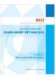 Báo cáo thường niên doanh nghiệp Việt Nam 2015 – Dịch vụ phát triển kinh doanh