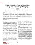 Những đổi mới của Nguyễn Minh Châu trong dòng chảy văn học đương đại