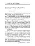 Hòa giải ở nông thôn miền Bắc Việt Nam (Giả thuyết dành cho một cuộc nghiên cứu)