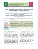 Diversity analysis among Fusarium oxysporum F. Sp. cumini isolates using ISSR markers, spore morphology and pathogenicity