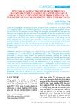 Tiềm năng giảm phát thải khí nhà kính thông qua thay đổi nhận thức và hành vi của người nông dân về việc áp dụng các tiến bộ kỹ thuật trong trồng lúa tại ô bao thủy lợi xã Vị Thanh, huyện Vị Thủy, tỉnh Hậu Giang